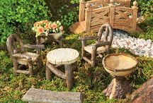 GARDENING:  Decorations For My Garden / From recycling to concrete I love adding anything colorful to my garden.