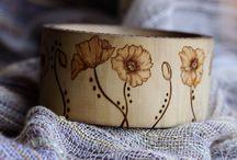 Drevené náramky/ Wooden bracelets