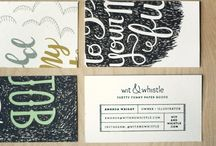 Business Cards / Business Card Design Inspiration
