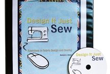 Design It Just Sew / Teaching students to design original fabrics using both traditional methods and new technology