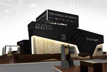 OMA | Beretta exhibition Nuremberg IWA 2013 / Project of Beretta exhibition stand at  international Nuremberg  IWA 2013