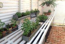 outdoor spaces