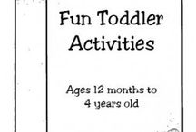 Toddler Activities / by Katie Roach