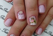 diseños hermosas de manicure