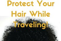 Easy Protective Hairstyles For Natural Hair While Traveling / Ideas for Protective Hairstyles While Traveling!