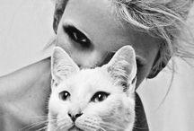 gatti+donne