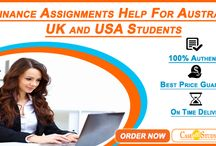 Top Most Finance Assignment Help Service