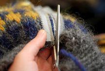 zipper knit