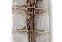 Collagen mit Holz