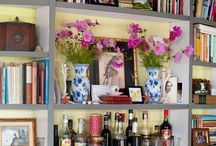 Bookshelves. / Bookshelves and ways to style them. / by Mollie Ruiz-Hopper