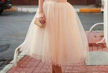 skirt of tulle! <3
