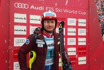 Khoroshilov leads first run in Adelboden slalom / Audi FIS World Cup. Nipping at the heels of Khoroshilov are Marcel Hirscher (AUT) 0.24 seconds behind and Norwegian Henrik Kristoffersen 0.32 seconds off the pace.