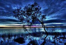 Spectacular Lake Weyba sunrises and sunsets / Beauty of Lake Weyba, Noosa Queensland, Australia