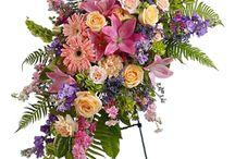 Blomster dekotioner