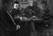 Horror movies...