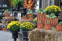 Fall and Halloween at Bakers Village / Fabulous fall decorations at Baker's Village.  If you are in the Columbus, OH area, make sure to stop by.  We are located at 9267 Dublin Road, Powell OH 43065.