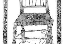 Dibujos y grabados de Jaime Goded. / Selección de dibujos y grabados de Goded.