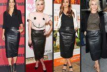Fashion ~ Leather skirt