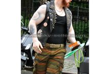 Teenage Mutant Ninja Turtles 2 Rocksteady Leather Vest / Get this stylish Sheamus TMNT: Out of the Shadows Spiked Vest at most cheap price from Sky-Seller online shop with free Shipping.