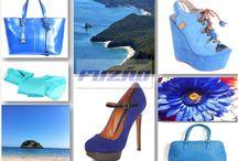 A cor azul profundo/The deep blue color / https://www.facebook.com/LojaFuzao