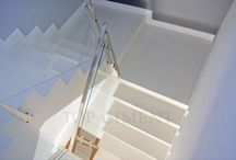 Stairs / Microcement coated stairs