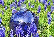 Purple Glass / Purple Glass Ornaments