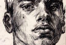 portrét a půlfigura