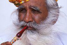 India. Portraits
