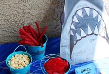Lucas's shark birthday / by Tara Gelineau-Sitilides