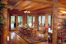 Dining / Pictures of Log Home Dining areas