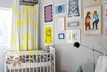 nurseries & kids rooms / by Amber Baxley