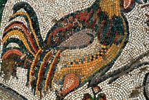 doğal taş mozaik