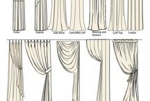 Curtains  / Inspiration for cyrtsins