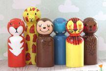 Vintage Dolls & Toys