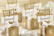 Gold Favors / A collection of our sparkly gold favors for any party you can create!