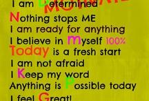 Affirmations / motivational / by Tara Merida