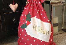 Santa sack ideas