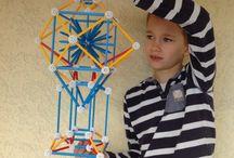 Gyerekmunkák / Gyermekeink kreatív alkotásai