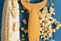 Crazy about Corn / Harvest your corn straight from the cob to make your recipes even fresher. It's never been easier than it is with the Corn Zipper, Original Corn Zipper and Corn Twister from #KuhnRikonUSA.