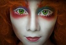 Makeup - Characters / From Scarecrows to Witches to Clowns, you'll find them here !