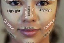 contour visage