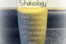 Shakecology / Healthy shakes