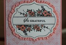 Apothecary Art~Stampin'Up / Coordinates with Labels Collection Framelits