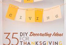 Thanksgiving ideas / by Sarah Defibaugh