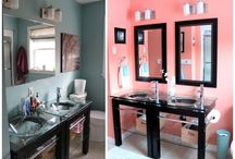 Colorful Bathrooms / Stylish bathroom paint color schemes and paint color inspiration for your bathroom renovation or bathroom redecorating project. / by PPG Voice of Color