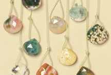 ~ shiny objects~ / gems, beads and briolettes