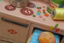 Vintage kitchen toys ~