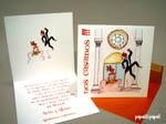Invitaciones de boda Divertidas / Invitaciones de boda con personajes de novios muy divertidos y originales.