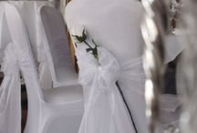 Our Chair Covers / Examples of some chair covers used in recent weddings in Essex.