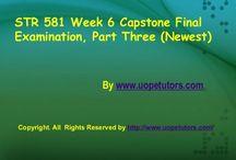 STR 581 Week 6